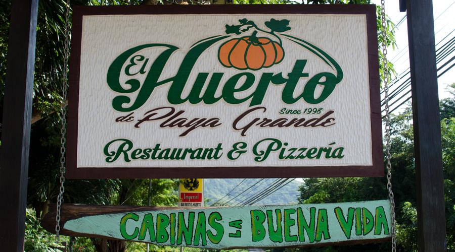 el huerto restaurant playa grande costa rica