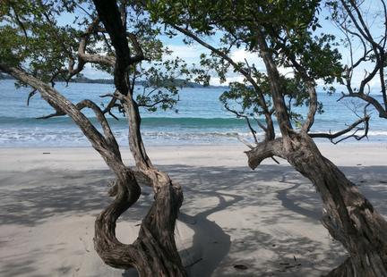 playa danta costa rica beach