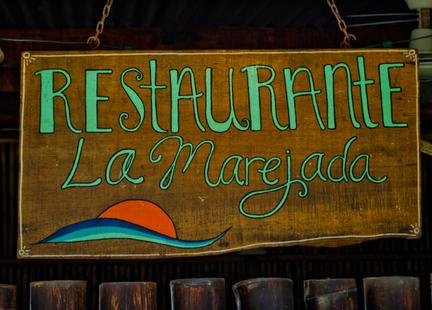 la marejada restaurant playa grande