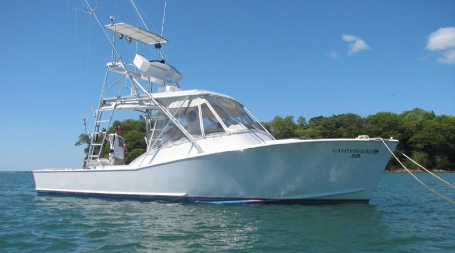 fishing boat costa rica