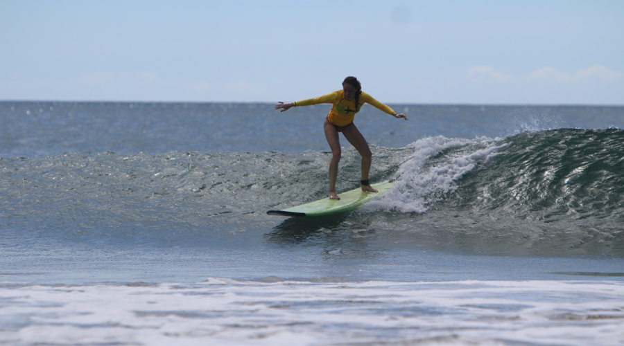 surfer girl playa grande